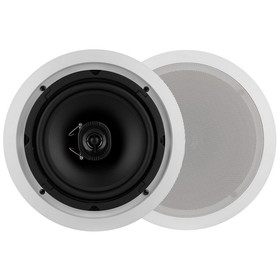 "Dayton Audio CS820CT 8"" 2-Way 70V Ceiling Speaker Pair"