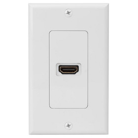 Dayton Audio HDMI-WP1 Single HDMI Wall Plate