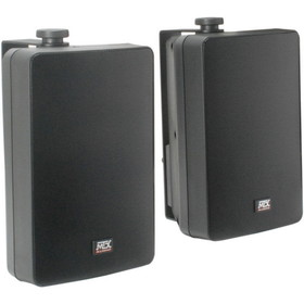 "MTX AW52-B 5-1/4"" 2-Way Outdoor Speaker Pair Black"