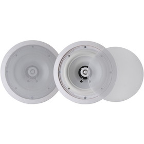 "Pyle PWRC81 8"" Weatherproof Ceiling Speaker Pair"