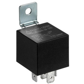 12 VDC Waterproof 5-Pin Relay SPDT 30/40A with Metal Bracket