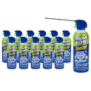Fast Blast Duster 10 oz. Can Air- Pack of 12