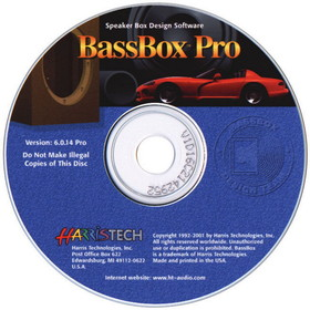 BassBox 6 Pro Software CD-ROM