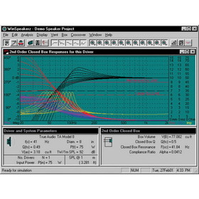 True Audio WinSpeakerz Speaker Design Software