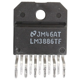LM3886TF Overture Audio Power Amp IC TO-220 11 Pin Isolated