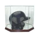 Perfect Cases Octagon Batting Helmet Dislpay Case