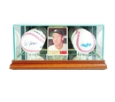 Perfect Cases Card and Double Basball Display Case