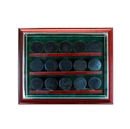 Perfect Cases 15 Hockey Puck Cabinet Style Display Case