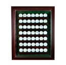 Perfect Cases 49 Golf Ball Cabinet Style Display Case