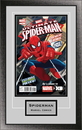 Perfect Cases Single Comic Book Frame with Engraving in Classic Moulding
