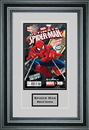 Perfect Cases Single Comic Book Frame with Engraving in Premium Moulding