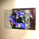 Perfect Cases Wall Mounted Racing Helmet Display Case