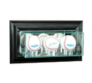 Perfect Cases Wall Mounted Triple Baseball Display Case