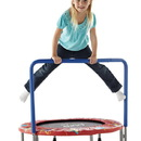 "Pure Fun 9006KM 36"" Kids Mini Trampoline w Handrail"