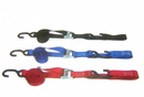 Pit Posse Heavy Duty Tie Downs With Soft Tye (2 Pk) 1 1/2 Inch