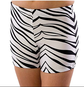 Pizzazz Body Basics Animal Print Boys Cut Briefs, Adult