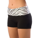 Pizzazz 2350ZG Youth Roll-Down Waist Shorts