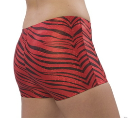 Pizzazz Zebra Glitter Boys Cut Briefs, Adult