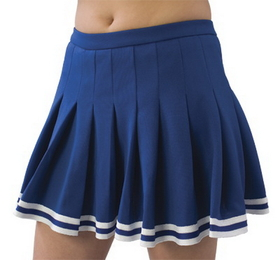 Pizzazz Pleated Uniform Skirt, Adult
