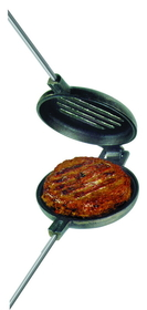 Rome 1505 Cast Iron Hamburger Grill Mountain Pie Maker