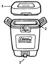 Seal For 3 Gallon Beverage Cooler