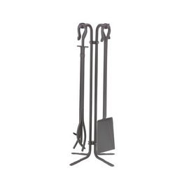 "Dagan Industries 5830NI 5 Piece 28"" Natural Wrought Iron Tool Set, Price/Set"