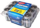 Ray O Vac 813-12PP Alkaline D Size - 12 Pack