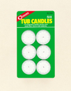 Coghlan 8509 Tub Candles, Package of 6