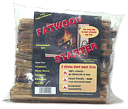 Dagan Industries FAT-1 2 Lbs Poly Bag Fatwood