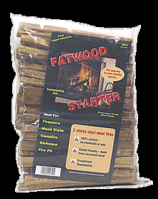 Dagan Industries FAT-2 4 Lbs Poly Bag Fatwood