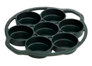 Lodge L7B3 Drop Biscuit Pan 1 1/8