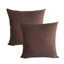 Aspire Pair of Cotton Pillow Covers, Cushion Case 18 X 18 Inches, Gift Idea