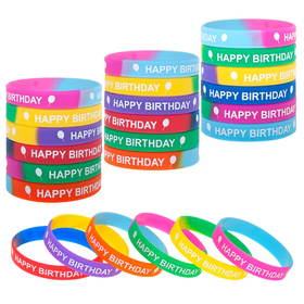 Aspire Happy Birthday Cone Hats, Smiling Face Paper Hat, Party Favors, Price/24 Pcs