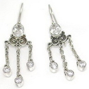 Risque Bali Sterling Silver Fashion Earrings