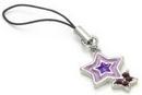Painful Pleasures CEL060 Purple/Purple Star Wholesale Cell Phone Charms