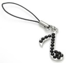 Painful Pleasures CEL065 Musical Note Wholesale Cell Phone Charms