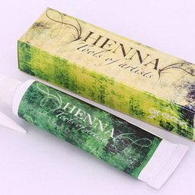 Henna - 12 Different Colors Of Henna Tattoo Ink To Choose From