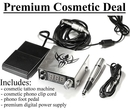 Painful Pleasures COS-GUNKIT Premium Cosmetic Kit -- Cosmetic Gun, Power Supply, Pedal and Clip Cord