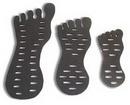Painful Pleasures DIS-057 Foam Foot Toe Ring Display