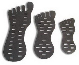 Foam Toe Ring Display In 3 Sizes