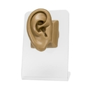 Painful Pleasures DIS-105 Realistic Adult-Sized Silicone Right Ear Display - Tan Body Bit Version 2