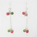 Painful Pleasures EAR002 CHERRY DROP Dangle Fashion Earrings