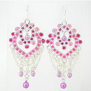 Painful Pleasures EAR010 PINK, PINK, PINK DANGLE Fashion Earrings