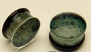 Gorilla Glass GG040-ZOP-D ZOA Plugs Double Flare Plugs Glass Body Jewelry - Price Per 1