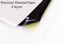 """Precision MED-116 Precision Tattoo Thermal Copier Paper - 8-1/2"""" x 14"""" - 100 Sheets"""