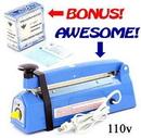 Precision MED-121_MED-066 Desk Type Impulse Heat Sealer - Free 400 Sterilization Pouches - 110v