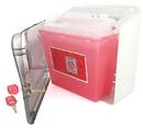 Bemis MED-226 Bemis Sharps Cabinet Only - Use with 5qt Sharps Container & Glove Box Holder