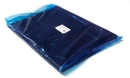 Painful Pleasures MED-262 Disposable Black Apron - Barrier Protection - 100 Aprons