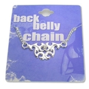 Painful Pleasures MN0205 Tribal Back Belly Chain Pierceless Body Jewelry