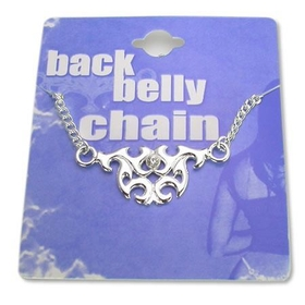 Tribal Back Belly Chain Pierceless Body Jewelry